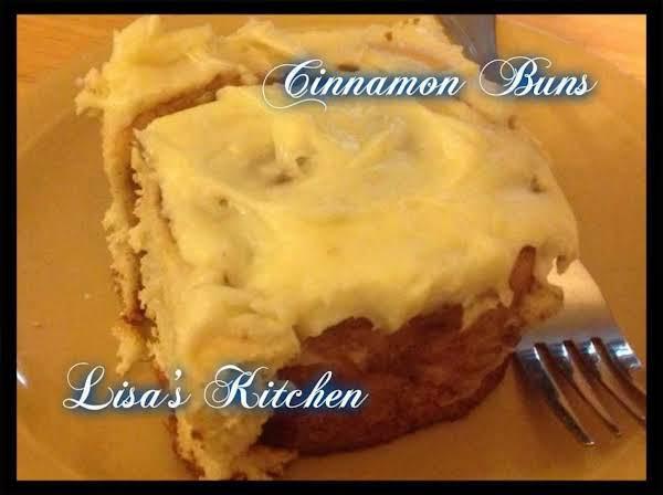 Lisa's Homemade Cinnamon Buns Recipe