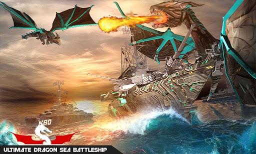 Flying Dragon Transformation Robot Battleship Game 1.2 screenshots 3