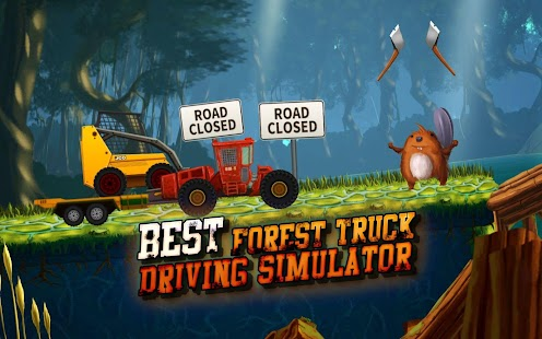 Forest Truck Simulator: Offroad & Log Truck Games - náhled