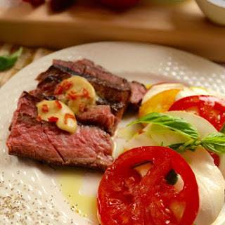 Steak with Steak Butter Recipe