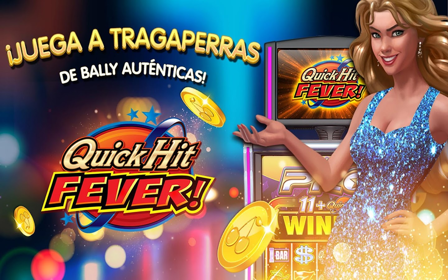 Quick Hit máchinas tragamonedas gratis en Bally Casinos en línea