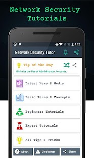 Network Security Tutorials Pro screenshot