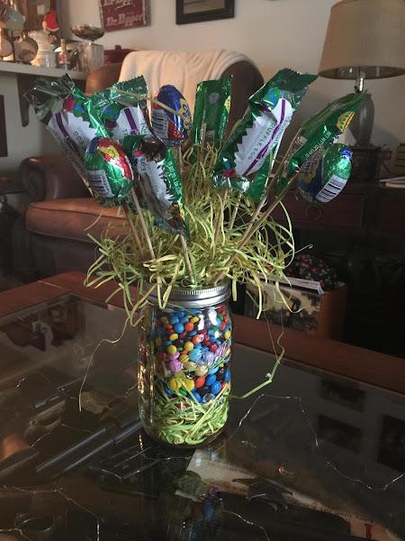 Chocolate Easter Vase Recipe