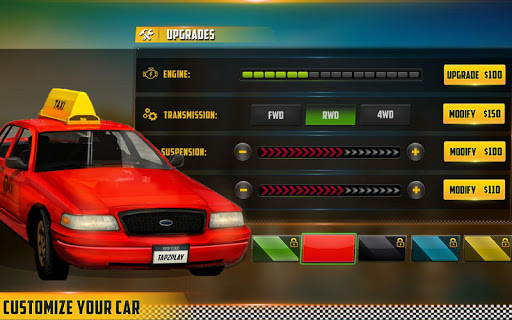 HQ Taxi Driving 3D 1.5 screenshots 10