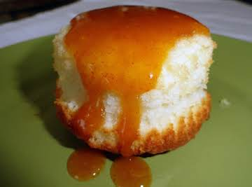 Mini Cream Cheese Pound Cakes with Pumpkin Glaze