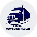 Couple Semitrailer in Punjabi Icon