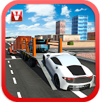 Car Transporter Trailer 2016 Icon