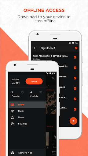 DaMixhub Mixtape & Music Downloader  screenshots 3