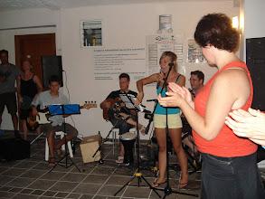 Photo: A zenekar első este