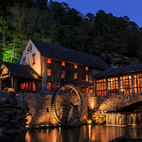 Mill at Dogwood Canyon by Jay Stout - Buildings & Architecture Public & Historical (  )