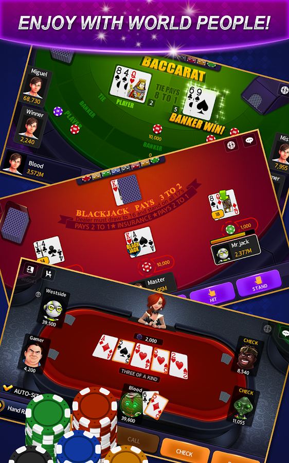 Casino Live - Poker,Slots,Keno- screenshot