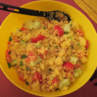 Couscous Salad with Ginger-Lime Dressing