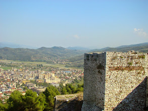 Photo: Berat z Twierdzy Albanorum - Albania