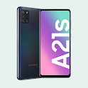 Delete Google Account in Samsung A21s icon