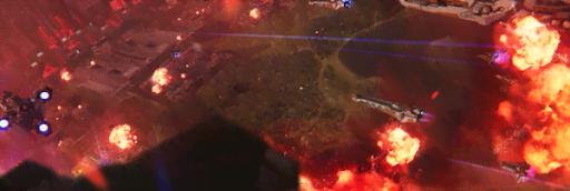 大迫力3Dで展開するSF侵略シュミレーション