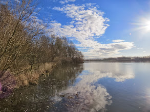 Photo: Priorslee Lake A very pleasant almost Spring-like morning. (Ed Wilson)