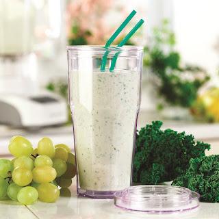Green Vegan Omega Smoothie.