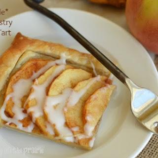 Simple Puff Pastry Apple Tart.