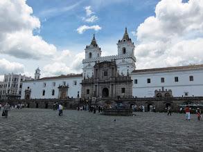 Photo: San Francisco plaza/church/monastery