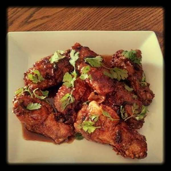 Toffee Chicken Wings