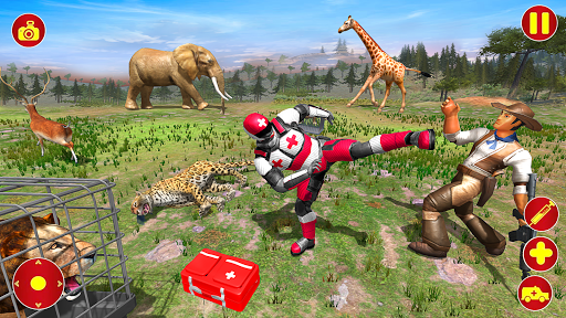 Light Superhero Speed Hero Robot Rescue Mission apkdebit screenshots 13