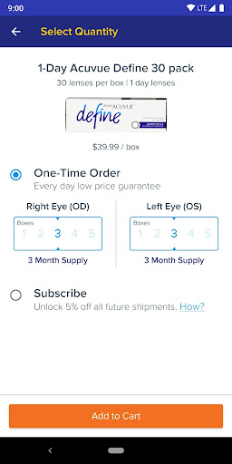 1800 Contacts - Lens Store 7.5.6 screenshots 4