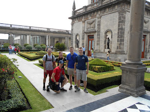 Photo: French garden on top of Chapultepec Castle. Porfirio Diaz loved everything French and is buried in France.