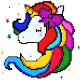 Unicorn Pixel art Kawaii for PC-Windows 7,8,10 and Mac