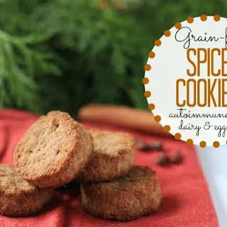 Grain-Free Spice Cookies – autoimmune paleo, dairy & egg free.