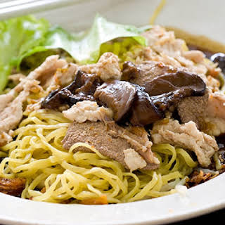Slow Cooker Pork and Noodles.