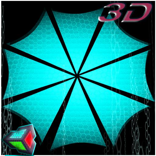 Scifi Umbrella Live Wallpaper