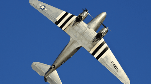 DC3 F-AZOX - Air Legend - Paris Villaroche