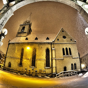 church; by Dominik Konjedic - City,  Street & Park  Vistas