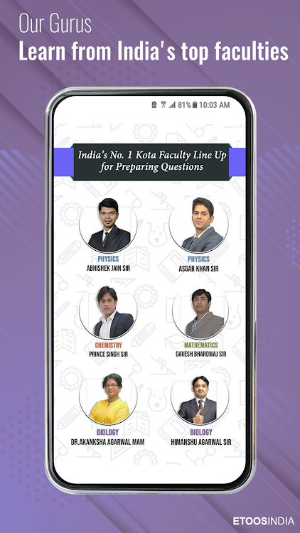 EtoosIndia: IIT JEE,NEET,CBSE,Foundation Prep App – (Android