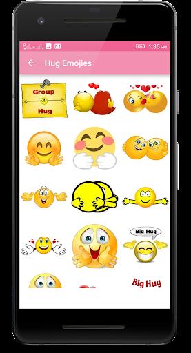 Download Hug Me Emoji Love Stickers Google Play softwares
