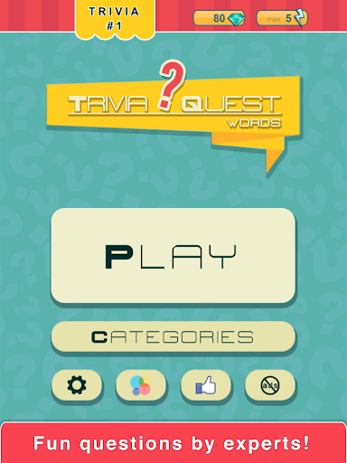 玩免費益智APP|下載Trivia Quest™ Words Trivia app不用錢|硬是要APP