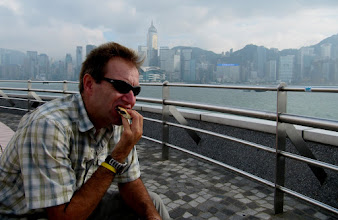 Photo: Day 194 -  Viewing Platform inVictoria  Harbour (Oppossite HK Island)