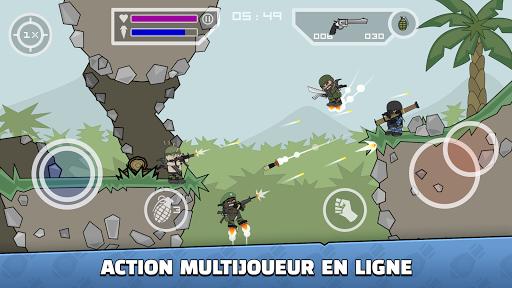 Code Triche Mini Militia - Doodle Army 2 APK Mod screenshots 1
