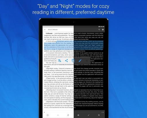 FullReader – e-book reader 4.0.7 screenshots 14