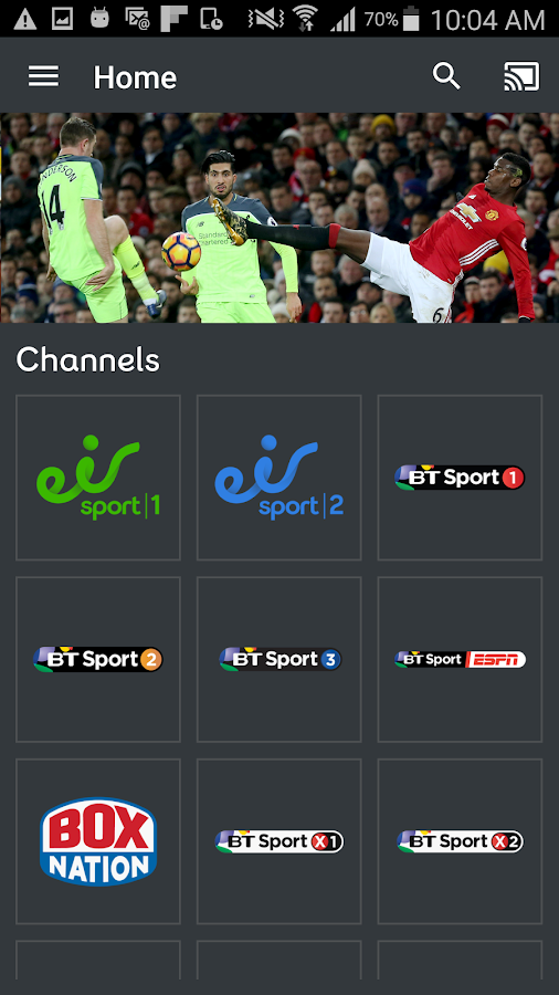 eir Sport- screenshot