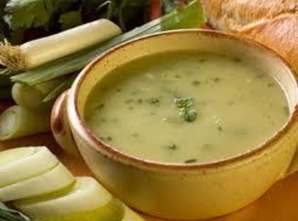 White Potato Soup Recipe