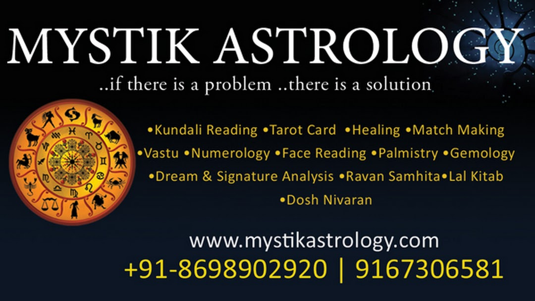 Mystik Astrology - Best Astrologer in Pune Tarot Card Reader