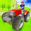 Real Tractor Farming Simulator 2019 icon