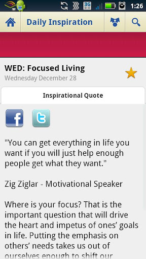 Daily Inspiration & Quotes screenshot 2