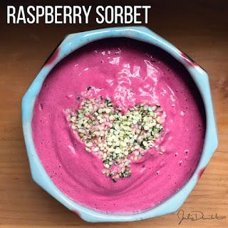 Raspberry Hemp Sorbet