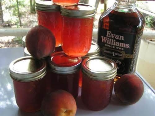 "Bourbon Peach Jam ""Let me tell you, this is absolutely some of..."