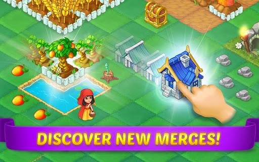 EverMerge: Merge Puzzles in a Fairy Tale Adventure screenshots 1