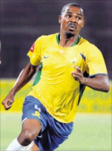 SETTLED: Sundowns' player of the month Derrick Spencer says the team has turned the corner. 22/10/08. Pic. Lefty Shivambu. © Gallo Images.