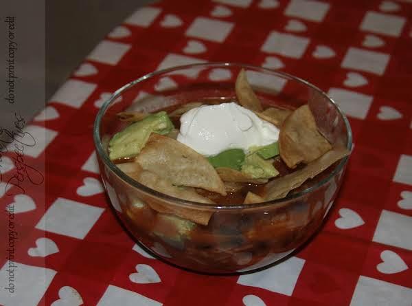 Mexican Gumbo Tortilla Soup Recipe