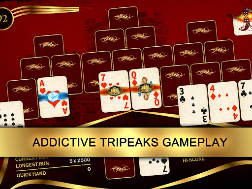 Towers: Tri Peaks Solitaire